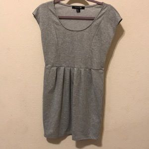 Forever 21 grey cap sleeve dress